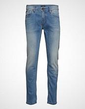 Lindbergh Tapered Fit Jeans Bleached Slim Jeans Blå LINDBERGH