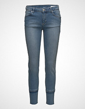2nd One Nicole 829 Crop, Raw Blue Voyage, Jeans Slim Jeans Blå 2ND