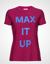 Max & Co. Damiere T-shirts & Tops Short-sleeved Rosa MAX&CO.
