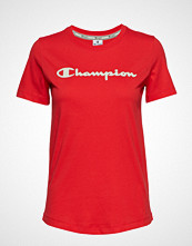 Cènnìs Crewneck T-Shirt T-shirts & Tops Short-sleeved Rød CHAMPION
