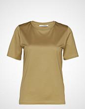 Tiger of Sweden Deiro T-shirts & Tops Short-sleeved Sølv TIGER OF SWEDEN