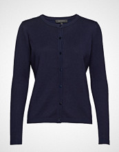 Soft Rebels Zara Cardigan O-Neck Strikkegenser Cardigan Blå SOFT REBELS