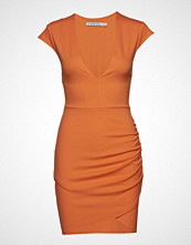 Ivyrevel V Neck Wrap Dress Kort Kjole Oransje IVYREVEL