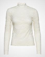 Rosemunde T-Shirt Turtleneck Regular Ls W/Lac T-shirts & Tops Long-sleeved Creme ROSEMUNDE