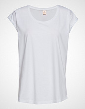 Custommade Lonnie T-shirts & Tops Short-sleeved Hvit CUSTOMMADE