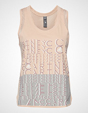 Adidas by Stella McCartney Logo Tank T-shirts & Tops Sleeveless Rosa ADIDAS BY STELLA MCCARTNEY