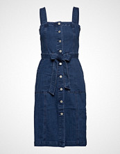 GAP Shank Front Denim Dress Med Wash Kort Kjole Blå GAP