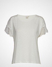 Cream Paulina Tshirt T-shirts & Tops Short-sleeved Hvit CREAM