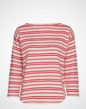 Mads Nørgaard Bretagne Organic Thilke T-shirts & Tops Long-sleeved Rød MADS NØRGAARD