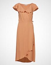 Valerie Love Dress Knelang Kjole Oransje VALERIE