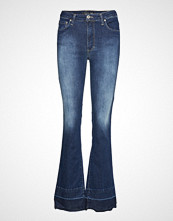 Please Jeans Longcut Raw Edge Oslo Jeans Sleng Blå PLEASE JEANS