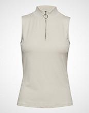 Vero Moda Vmcillas Sl Top Jrs T-shirts & Tops Sleeveless Creme VERO MODA