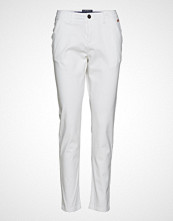 Superdry City Chino Pant Chinos Bukser Hvit SUPERDRY