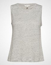 Banana Republic Sl Linen Shorter Length Tank T-shirts & Tops Sleeveless Grå BANANA REPUBLIC