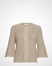Cream Felice Knit Pullover Strikket Genser Beige CREAM