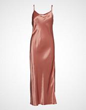 Superdry Bianca Slip Dress Knelang Kjole Rosa SUPERDRY
