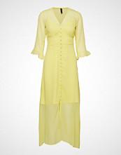 Yas Yasmasha 3/4 Ankle Dress Knelang Kjole Gul YAS