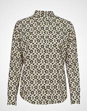 Scotch & Soda Over D Boxy Fit Cotton Viscose Shirt In Various Prints Bluse Langermet Multi/mønstret SCOTCH & SODA