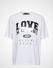 Love Moschino Love Moschino T-shirts & Tops Short-sleeved Hvit LOVE MOSCHINO
