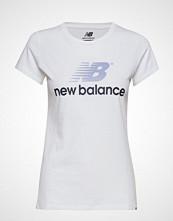 New Balance Nb Athletics Archive Stacked T T-shirts & Tops Short-sleeved Hvit NEW BALANCE