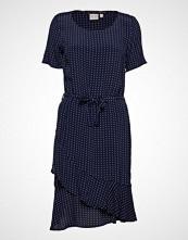 Brandtex Dress-Light Woven Knelang Kjole Blå BRANDTEX