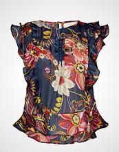 Lollys Laundry Harmony Top Bluse Ermeløs Multi/mønstret LOLLYS LAUNDRY