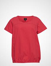 Zizzi Mmarrakesh, Ss, Blouse T-shirts & Tops Short-sleeved Rød ZIZZI