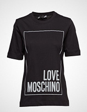 Love Moschino Love Moschino-T-Shirt T-shirts & Tops Short-sleeved Svart LOVE MOSCHINO