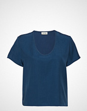 American Vintage Nalastate T-shirts & Tops Short-sleeved Blå AMERICAN VINTAGE
