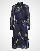 Twist & Tango Eden Dress Sporty Flower Knelang Kjole Blå TWIST & TANGO