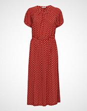 Stine Goya Caitlin, 509 Light Jersey Knelang Kjole Rød STINE GOYA