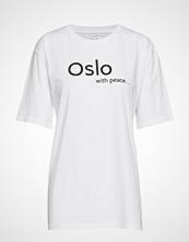 Line Of Oslo Jamie T-shirts & Tops Short-sleeved Hvit LINE OF OSLO