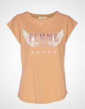 Sofie Schnoor T-Shirt T-shirts & Tops Short-sleeved Oransje SOFIE SCHNOOR