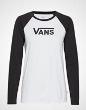 Vans Wm Flying V Classic T-shirts & Tops Long-sleeved Hvit VANS