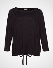 Only Carmakoma Carcozyness Ls Blouse T-shirts & Tops Long-sleeved Svart ONLY CARMAKOMA
