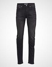 Calvin Klein Ckj 058 Slim Taper, Slim Jeans Svart CALVIN KLEIN JEANS