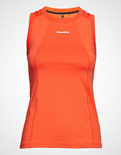 Newline Black Tank T-shirts & Tops Sleeveless Oransje Newline