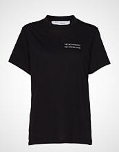 Iro Balko T-shirts & Tops Short-sleeved Svart IRO