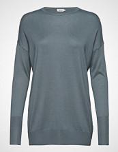 Filippa K Silky Fine Knit Sweater Strikket Genser Blå FILIPPA K