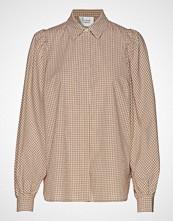 Second Female Jang Ls Shirt Langermet Skjorte Beige SECOND FEMALE