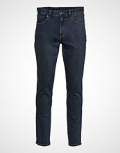 IZOD Saltwater Denim Blue Black Wash Slim Jeans Blå IZOD