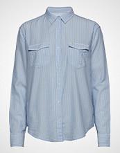 Lee Jeans Relaxed Western Langermet Skjorte Blå LEE JEANS