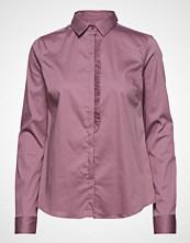 Mos Mosh Tilda Frill Shirt Langermet Skjorte Rosa MOS MOSH