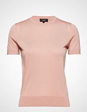 Theory Basic Tee M.Silken C T-shirts & Tops Short-sleeved Rosa THEORY