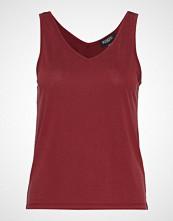 Soaked in Luxury Sl Columbine Tank Top T-shirts & Tops Sleeveless Rød SOAKED IN LUXURY