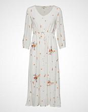 Cream Lisa Dress Knelang Kjole Creme CREAM