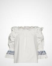 By Malina Camille Blouse Bluse Langermet Hvit BY MALINA