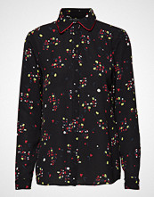 Armani Exchange Woman Woven Shirt Bluse Langermet Svart ARMANI EXCHANGE