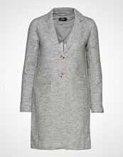 Only Onlnew Ella Wool Coat Cc Otw Ullfrakk Frakk Grå ONLY