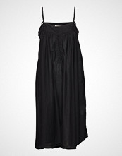 Rabens Saloner Cotton String Dress Kort Kjole Svart RABENS SAL R